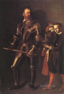 Portrait of Alof de Wignacourt1 Caravaggio Oil Paintings