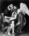 St Matthew and the Angel Caravaggio