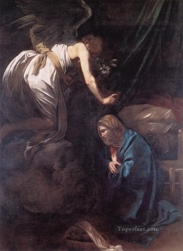 The Annunciation Caravaggio Oil Paintings