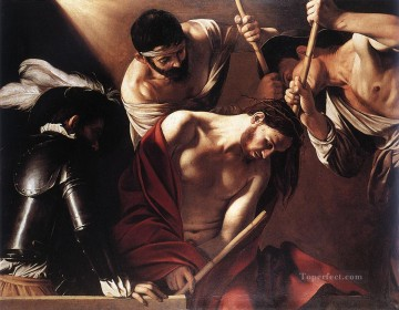 The Crowning with Thorns1 Caravaggio Oil Paintings