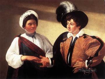 The Fortune Teller2 Caravaggio Oil Paintings