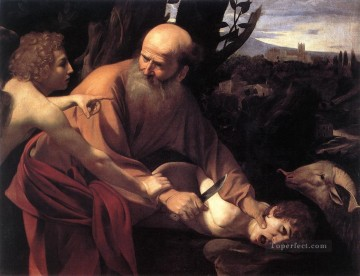 Caravaggio Painting - The Sacrifice of Isaac1 Caravaggio