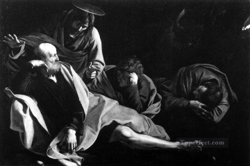 Christ in the Garden Caravaggio Oil Paintings