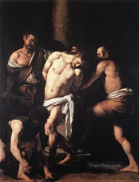 Flagellation Baroque Caravaggio Oil Paintings