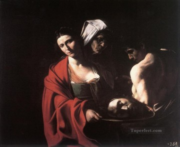 Caravaggio Painting - Salome with the Head of the Baptist Caravaggio