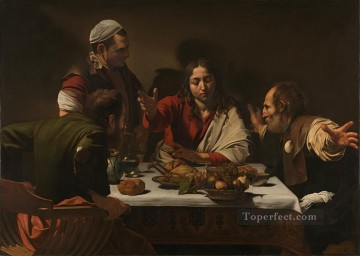 Supper at Emmaus1 Caravaggio Oil Paintings