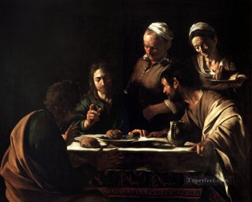 Supper at Emmaus2 Caravaggio Oil Paintings