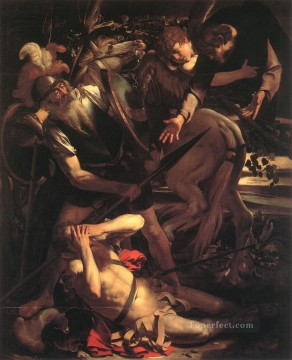 Caravaggio Painting - The Conversion of St Paul Caravaggio