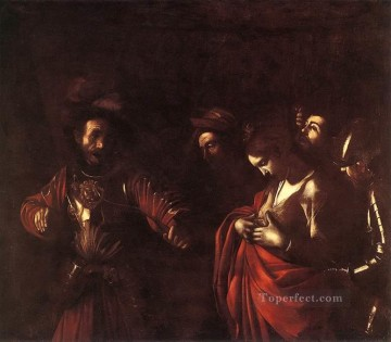 The Martyrdom of St Ursula Caravaggio Oil Paintings