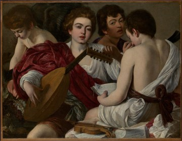 The Musicians Caravaggio Oil Paintings