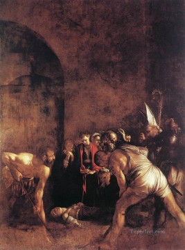 Burial of St Lucy Caravaggio Oil Paintings