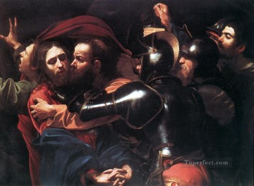 Caravaggio Painting - Taking of Christ Caravaggio