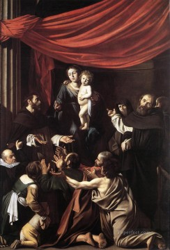 Madonna del Rosario Caravaggio Oil Paintings