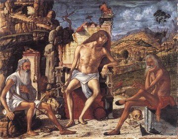 Meditation Art - The Meditation on the Passion Vittore Carpaccio