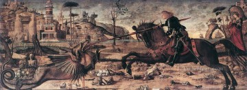 dragon Painting - St George and the Dragon Vittore Carpaccio