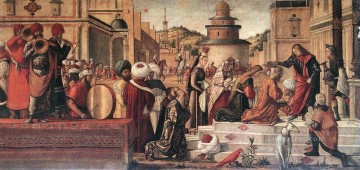 baptism of christ Painting - The Baptism of the Selenites Vittore Carpaccio