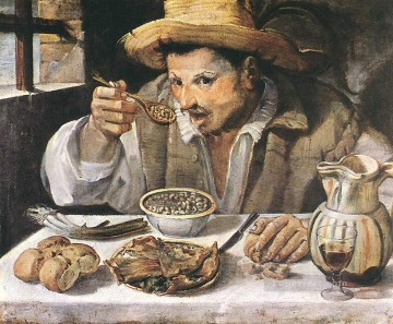 Annibale Art Painting - The Beaneater Baroque Annibale Carracci