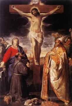 crucifixion Painting - Crucifixion Baroque Annibale Carracci