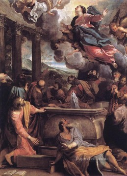 Carracci Deco Art - Assumption of the Virgin Baroque Annibale Carracci