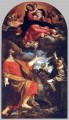 The Virgin Appears to St Luke and Catherine Baroque Annibale Carracci