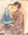 Baby Bill mothers children Mary Cassatt