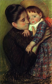 Helene de Septeuil mothers children Mary Cassatt Oil Paintings