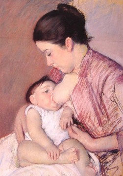 Mary Cassatt Painting - Maternite mothers children Mary Cassatt