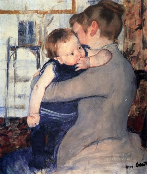Mary Cassatt Painting - Mother And Child 1889 mothers children Mary Cassatt