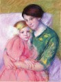 Mother and Child Reading mothers children Mary Cassatt