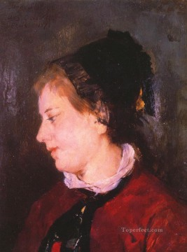 Mary Cassatt Painting - Portrait of Madame Sisley mothers children Mary Cassatt