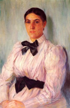 Mary Cassatt Painting - Portrait of Mrs William Harrison mothers children Mary Cassatt