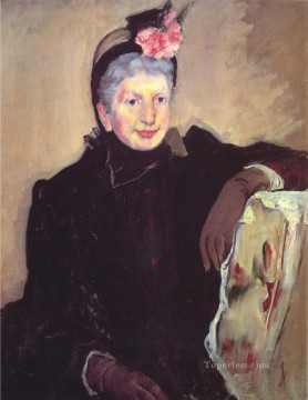 Portrait of a Elderly Lady mothers children Mary Cassatt Oil Paintings