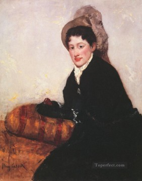 Mary Cassatt Painting - Portrait of a Woman 1878 mothers children Mary Cassatt