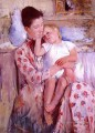 Emmie and Her Child mothers children Mary Cassatt