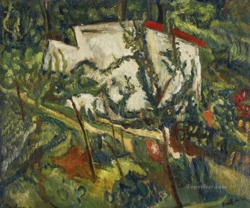 Artworks by 350 Famous Artists Painting - CLAMART HOUSE Chaim Soutine