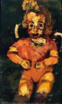 Chaim Soutine Painting - child in pink 1937 Chaim Soutine