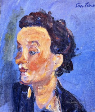 Artworks by 350 Famous Artists Painting - english girl in blue 1937 Chaim Soutine