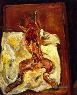 Rabbit Painting - flayed rabbit 1921 Chaim Soutine