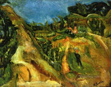 Chaim Soutine Painting - midday landscape Chaim Soutine