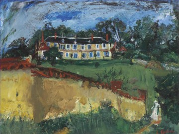Chaim Soutine Painting - Old house near Chartres Chaim Soutine