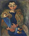 Woman with doll Chaim Soutine
