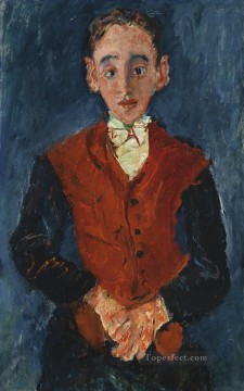 Chaim Soutine Painting - the chamber valet Chaim Soutine