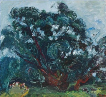 Artworks by 350 Famous Artists Painting - tree Chaim Soutine