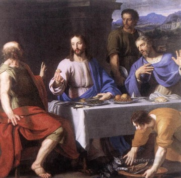 philippe Works - The Supper at Emmaus Philippe de Champaigne