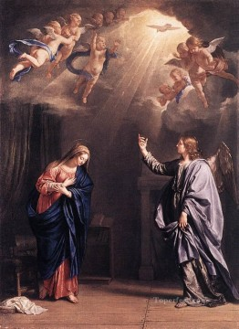annunciation Painting - Annunciation Philippe de Champaigne