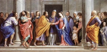philippe Works - The Marriage of the Virgin Philippe de Champaigne