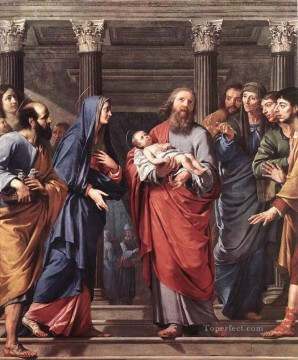 Presentation Art - The Presentation of the Temple Philippe de Champaigne