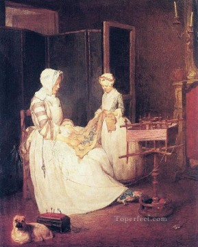 DMum Jean Baptiste Simeon Chardin Oil Paintings