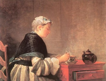 LTea Jean Baptiste Simeon Chardin Oil Paintings