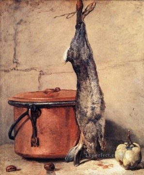 Rabb still life Jean Baptiste Simeon Chardin Oil Paintings